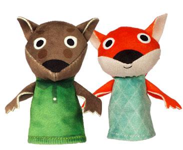 Le Loup et le Renard + Les marionnettes du Loup et du Renard