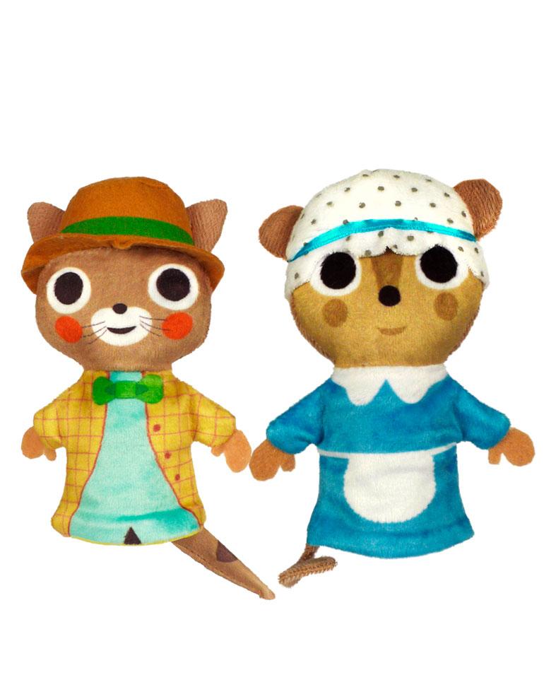 La Petite Souris pretentieuse + Les marionnettes du Petite souris et du Chat