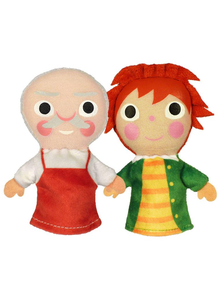 Les Elfes et le Cordonnier + Les marionnettes du Joseph le cordonnier et du petit nain