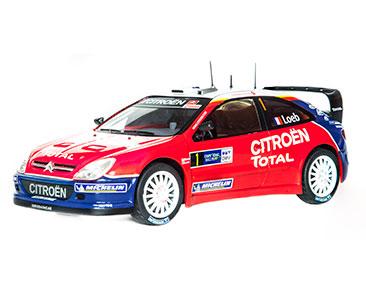 Fascicule 21 + Citroën Xsara WRC - 2005 - S. Loeb