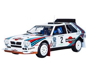 Fascicule 16 + Lancia Delta S4 - 1986 - M. Alén