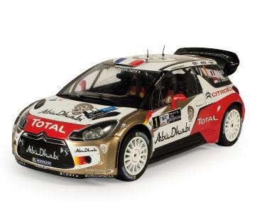 Fascicule 1 + CITROEN DS3 WRC 2013 Sébastien Loeb - Daniel Elena