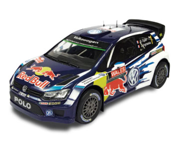 Fascicule 2 + VOLKSWAGEN POLO R WRC 2015 - Sébastien Ogier - Julien Ingrassia