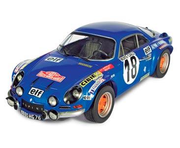 Fascicule 4 + Alpine-Renault A100 1800 - 1973 - J-C Andruet - M. Espi