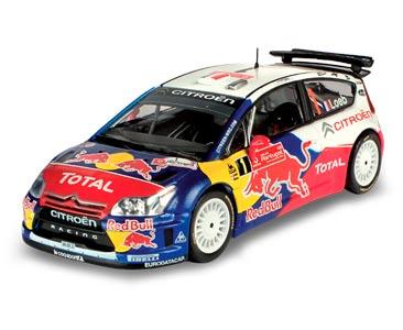 Fascicule 6 + Citroën C4 WRC - 2009 - S. Loeb