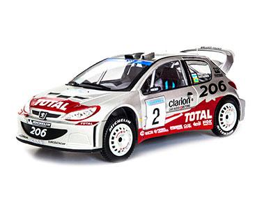 Fascicule 8 + Peugeot 206 WRC - 2002 - M. Grönholm