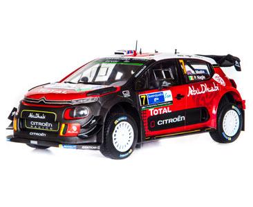 Fascicule 29 + Citroën C3 WRC - 2017 - K. Meeke