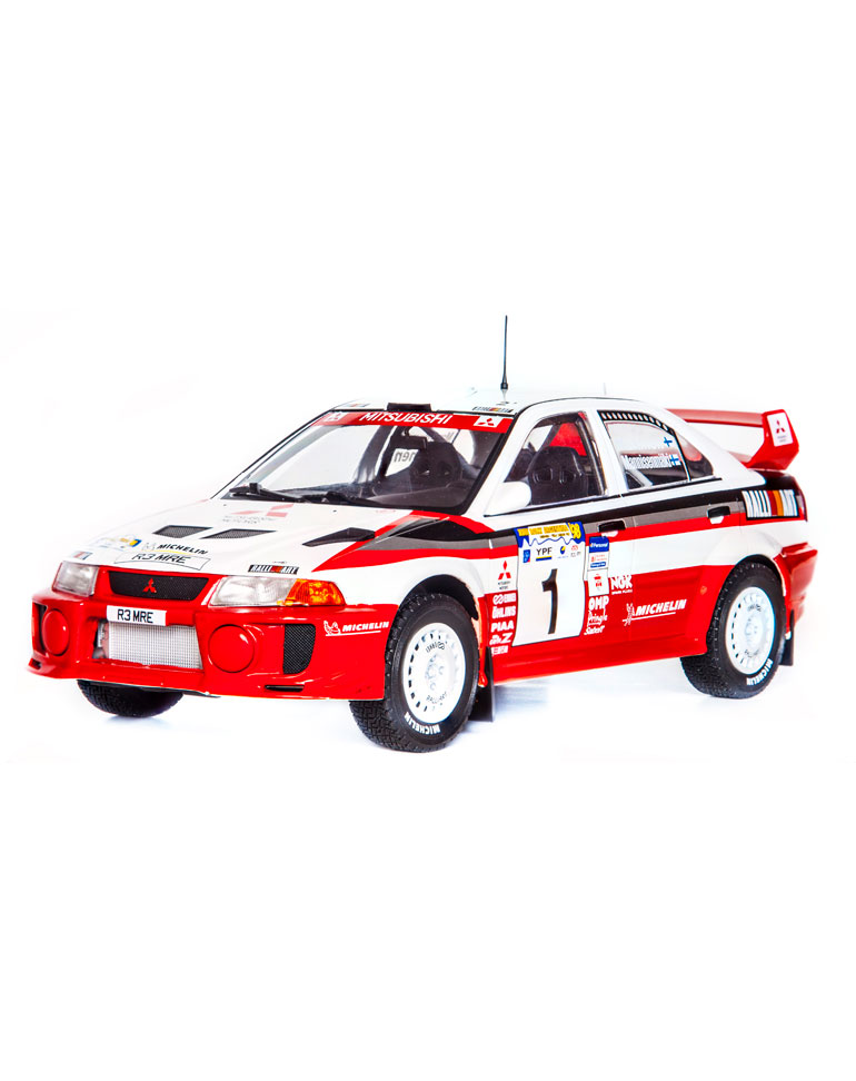 Fascicule 35 + Mitsubishi Lancer Evo V – 1998 – T. Mäkinen