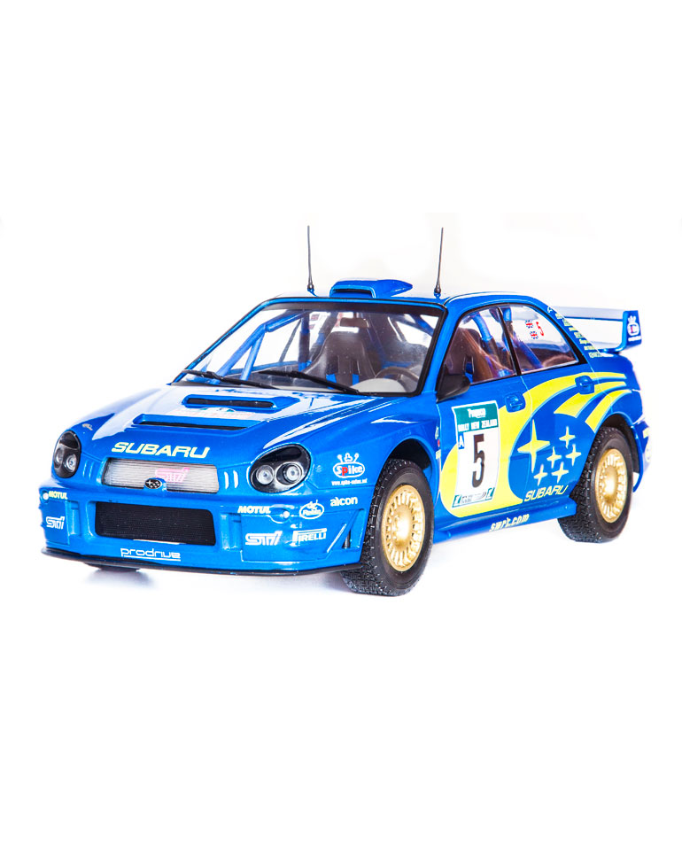 Fascicule 37 + Subaru Impreza WRC - 2001 - R. Burns