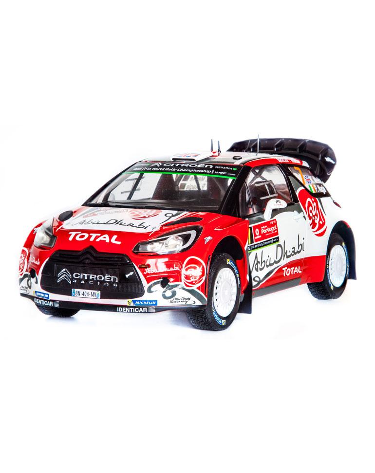 Fascicule 38 + Citroën DS3 WRC - 2016 - K. Meeke