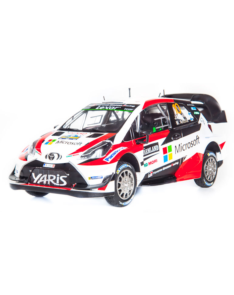 Fascicule 41 + Toyota Yaris WRC - 2017 - J.-M. Latvala