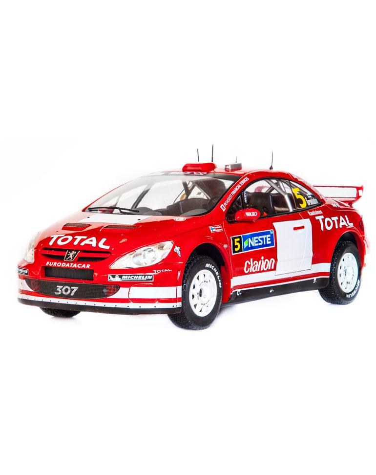 Fascicule 42 + Peugeot 307 WRC - 2004 - M. Grönholm