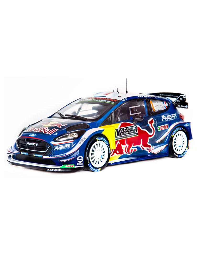 Fascicule 53 + Ford Fiesta WRC - S. Ogier - 2018