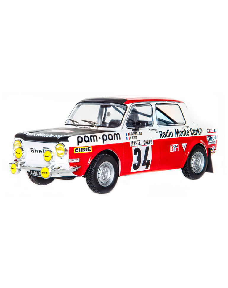 FASCICULE 55 + Simca Rallye 2 - 1973 - B. Fiorentino