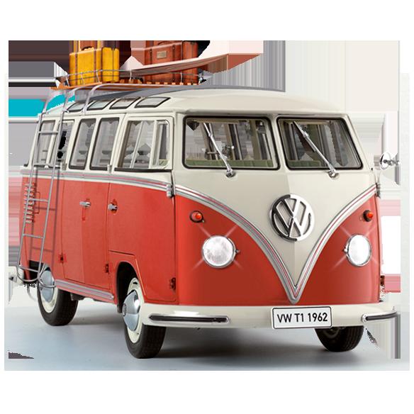 Maquette du Combi VW Samba