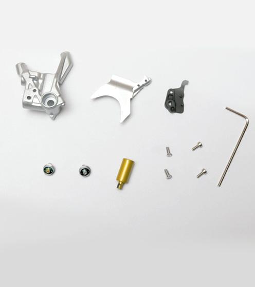 Fascicule 6 + pièces du support de l%7étrier de frein