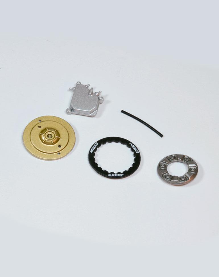FASCICULE 33 + Couvercle des fluides et dernières pièces de l'embrayage