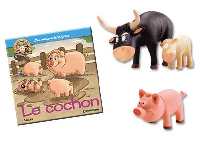 """Le livret """"Le cochon"""" + miniatures"""