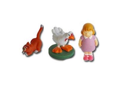 """Le livret 12 """"Le chat"""" + miniatures"""