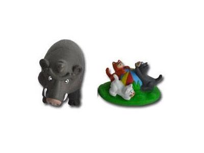 """Le livret 14 """"Les animaux des champs"""" + miniatures"""