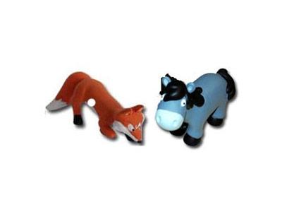 """Le livret 18 """"La belette, le blaireau et le renard"""" + miniatures"""