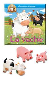 """Le livret """"La vache'' + miniatures"""