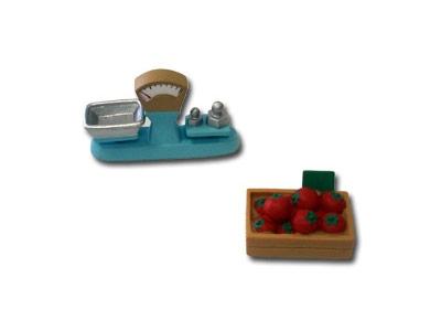 """Le livret 38 """"Les fermiers au marché"""" + miniatures"""