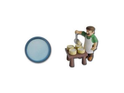 """Le livret 41 """"Le fromage"""" + miniatures"""