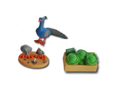"""Le livret 44 """"Les animaux domestiques"""" + miniatures"""