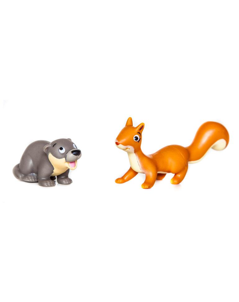 """Le livret 63: """"L'écureuil"""" + miniatures"""