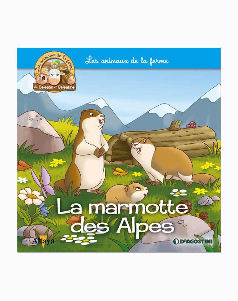 """Le livret 75: """"La marmotte des Alpes"""" + miniatures"""