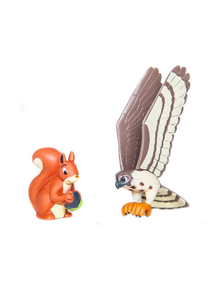 """Le livret 78: """"Le faucon"""" + miniatures"""