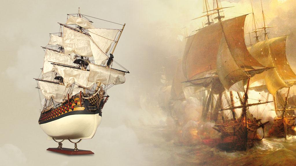 Construisez un navire de légende