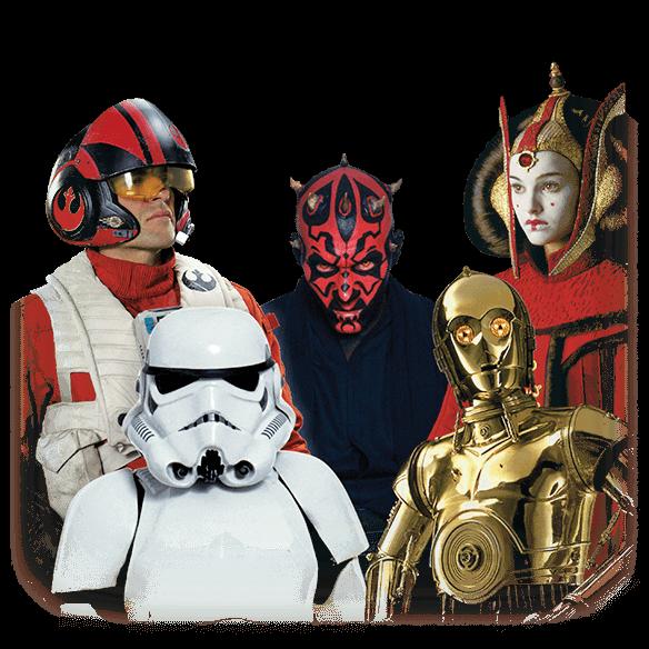 Les personnages les plus emblématiques de Star Wars