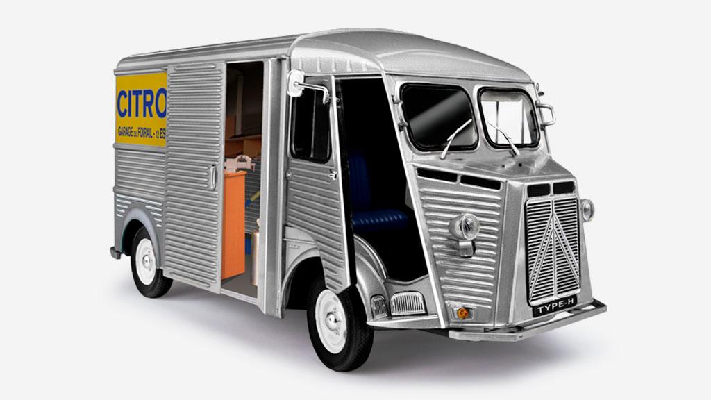 Le Type H, un véhicule légendaire