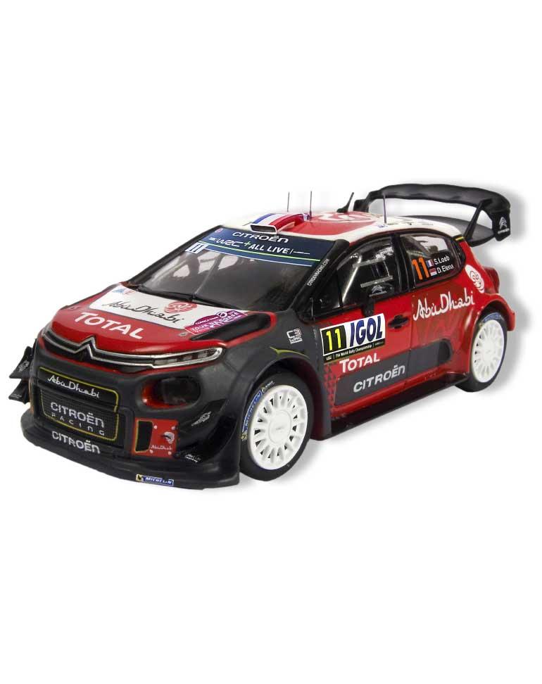 La Citroën C3 WRC Tour de Corse 2018  + Fascicule 2