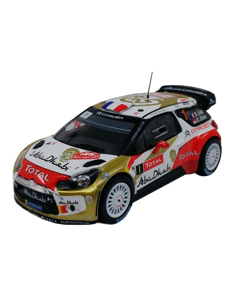 Citroën DS3 WRC rallyE de monte-carlo 2013  + Fascicule 5