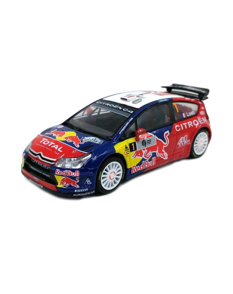 Citroën C4 WRC Tour de Corse 2008  + Fascicule 6