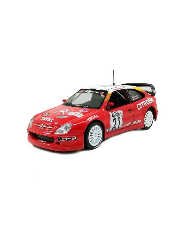CITROËN XSARA WRC Rallye d'Allemagne 2002  + Fascicule 7