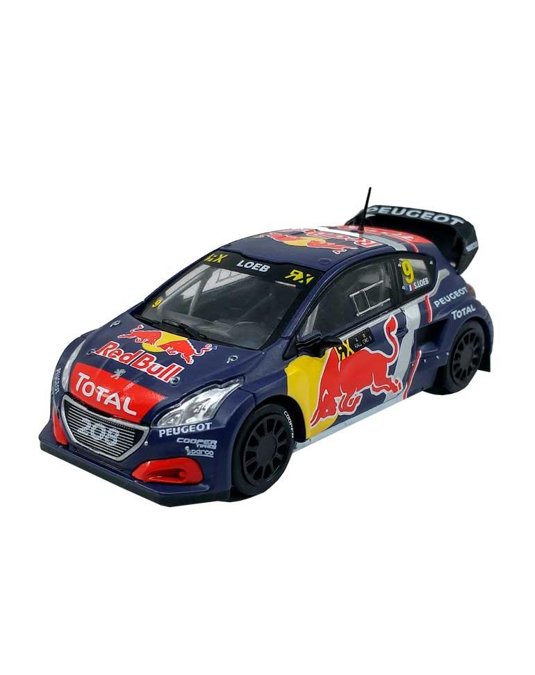 Peugeot 208 WRX Rallycross de Belgique 2018 + FASCICULE 10
