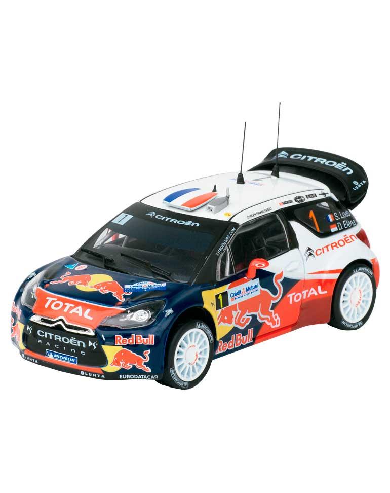 Citroën DS3 WRC Rallye de France-Alsace 2012 + FASCICULE 12