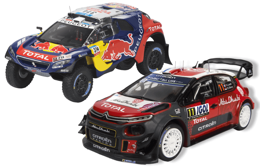 Collection de voitures de Sébastien Loeb