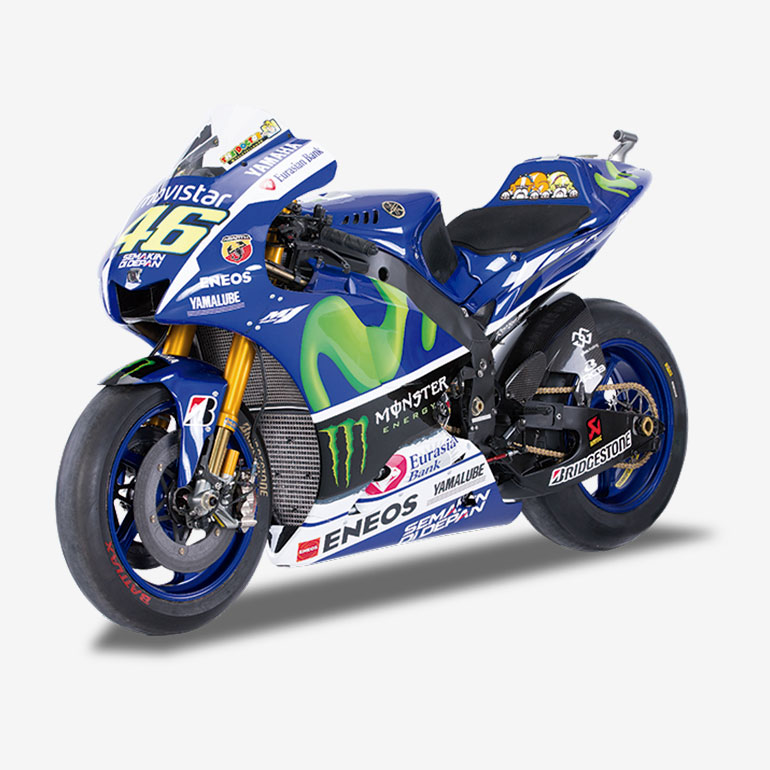 Valentino Rossi - Yamaha YZR-M1 (2015) + Fascicule 1