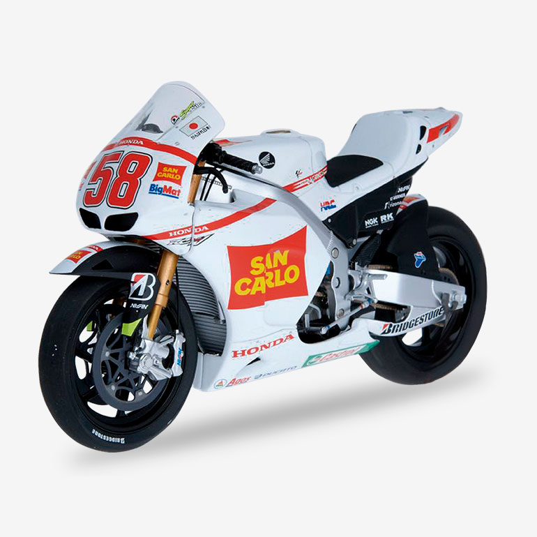 MARCO SIMONCELLI -Honda RC212V (2011)+ FASCICULE 6