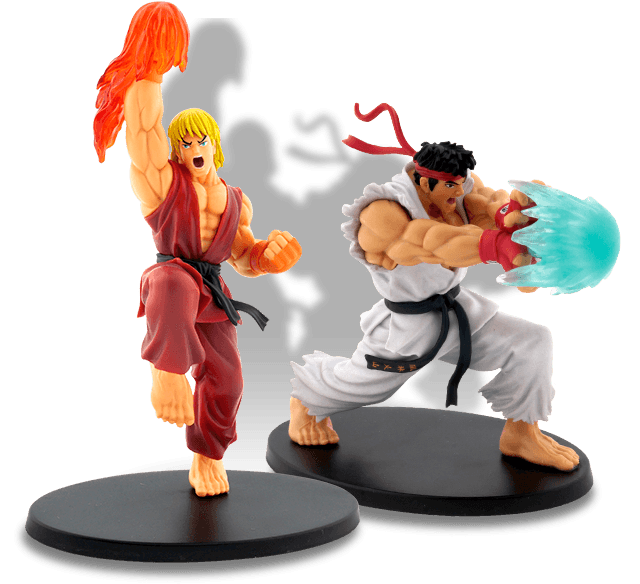 Street Fighter Figurines de Collection