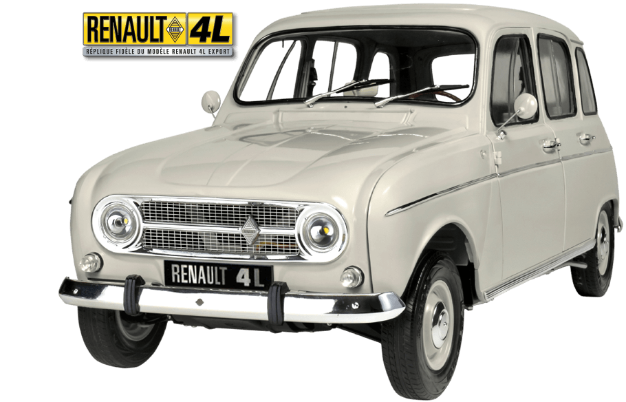 Maquette de la RENAULT 4L