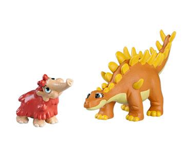 Le livret 27: Le kentrosaure + La maman kentrosaure + Le bébé mammouth