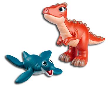 Le livret 23 : L'ichtyosaure + La maman carnotaure + Le bébé plésiosaure
