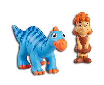 Le livret 24 : L'iguanodon + La maman iguanodon + La jeune fille humaine