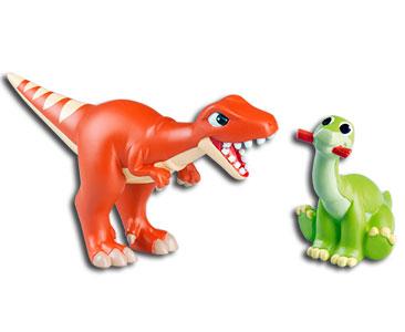 Le livret 22 : Le mégalosaure + La maman carnotaure + Le bébé plésiosaure